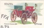 Stamps United Kingdom -  COCHE DE EPOCA- THOMSON STEAMER 1896
