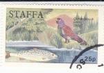 sellos de Europa - Reino Unido -  UROGALLO Y TRUCHA