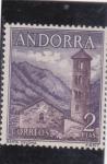 Stamps : Europe : Andorra :  SANTA COLOMA