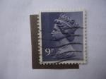 Sellos de Europa - Reino Unido -  Isabel II - Tipo Machín.