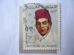 Stamps : Africa : Morocco :  King: Hassan II - Reino de Marruecos-Royaume Du Maroc.