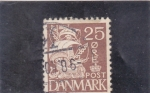 Stamps of the world : Denmark :  VELERO