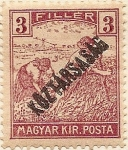 Stamps Europe - Hungary -  MAGYAR KIR POSTA