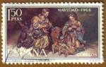 Stamps : Europe : Spain :  NAVIDAD - Nacimiento de Duque Cornejo