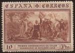 Stamps Spain -  Desembarco en Guanahaní  1930 10 ptas