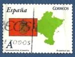 Stamps : Europe : Spain :  Edifil 4620 Comunidad Foral de Navarra A