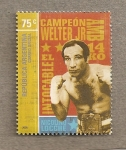 Stamps of the world : Argentina :  Boxeador Nicolino Loche