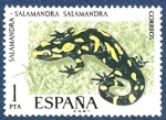 Stamps : Europe : Spain :  Edifil 2272 Salamandra 1 NUEVO
