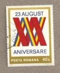 Stamps Romania -  XXX Aniv del 23 Agosto