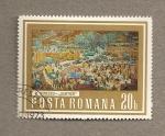 Sellos de Europa - Rumania -  Cuadro por M. Rumescu