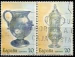 Sellos de Europa - España -  ESPAÑA_SCOTT 2552b+c,01 $0,4