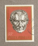 Stamps Romania -  Emperador Trajano