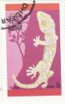 Stamps : Asia : Oman :  LAGARTO