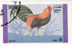 Sellos de Asia - Omán -  AVE- GALLO