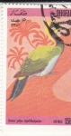 Stamps Oman -  AVE- GRULLA AMARILLA