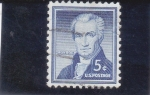 Stamps United States -  Monroe