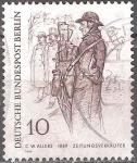 sellos de Europa - Alemania -  Dibujos: berlineses en el siglo XIX.