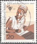 sellos de Europa - Alemania -  20ºCongreso Mundial de correos(PTTI), Berlín.