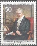 sellos de Europa - Alemania -  Bicentenario del Barón Alexander von Humbold.