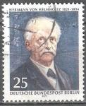 sellos de Europa - Alemania -  150 aniversario de Hermann von Helmholtz (científico).