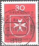 sellos de Europa - Alemania -  Servicio de ayuda maltesa.