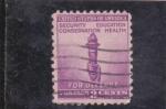 sellos de America - Estados Unidos -  Por la defensa