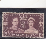 Stamps United Kingdom -  boda real