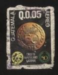 Stamps Guatemala -  Credito Hipotecario Nacional