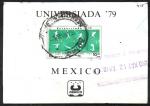 Stamps : America : Mexico :  JUEGOS  MUNDIALES  UNIVERSITARIOS