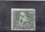 Stamps India -  troceando el te