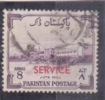 Stamps Pakistan -  población- service
