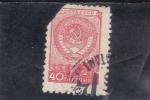 Stamps Russia -  escudo