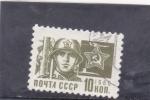 Sellos de Europa - Rusia -  soldado
