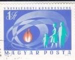 Sellos de Europa - Hungría -  Congreso educativo
