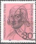 Sellos del Mundo : Africa : Angola : 200 aniv del nacimiento de Friedrich Hölderlin (poeta).
