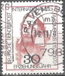 Sellos del Mundo : Europa : Alemania : Año Internacional de la Educación,Jan Amos Comenius † 15.11.1670.