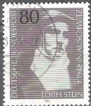 Sellos del Mundo : Europa : Alemania : 40a Aniv Muerte de Edith Stein (filósofo).