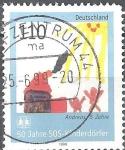 Sellos del Mundo : Europa : Alemania : 50 años de Aldeas Infantiles SOS.