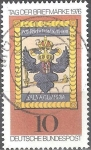 Stamps : Europe : Germany :  Día del sello 1976.