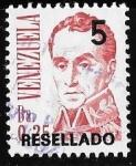 Stamps Venezuela -  Venezuela-cambio