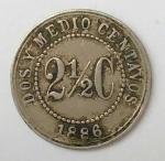 monedas del Mundo : America : Colombia :  1886 venta