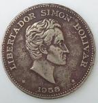monedas del Mundo : America : Colombia :  1958 venta