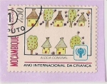 Stamps Mozambique -  Aldeia Comunal