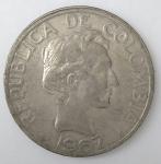 monedas del Mundo : America : Colombia :  1967 venta
