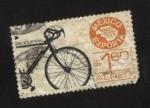 Stamps : America : Mexico :  Bicicletas
