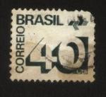 Stamps : America : Brazil :  Correo Brasil