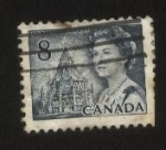 Stamps : America : Canada :  Reina