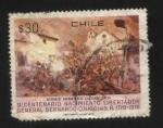 Stamps : America : Chile :  Bicentenario Libertador Bernardo O´higgins