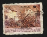 Sellos del Mundo : America : Chile : Bicentenario Libertador Bernardo O´higgins