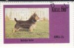 Stamps Nagaland -  Perro de raza- australian terrier